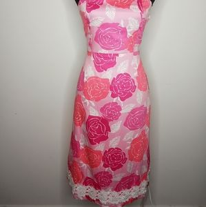 Lilly Pulitzer Strapless Dress - 6